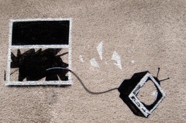 graffitti Bansky
