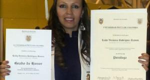 estudiante soposena reconocida grado de honor universidad incca de colombia