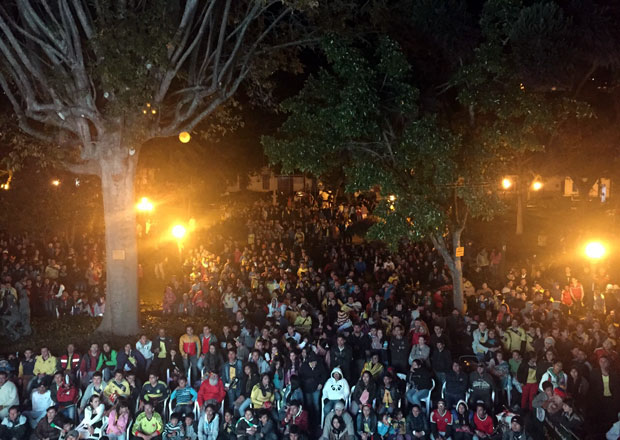 Partido de fútbol, Colombia, Sopo