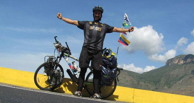 Diego Morales Uruguay bicicieta