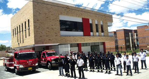 estacion de bomberos sopo