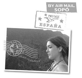 Elisa extranjera en sopo
