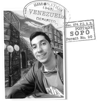 Rafael extranjero en sopo