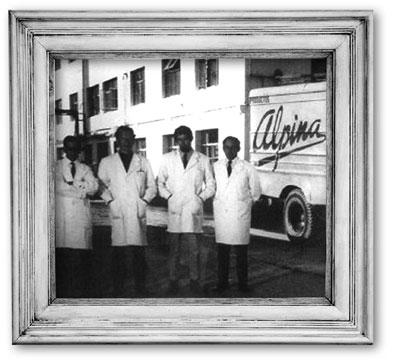 compania de lacteos alpina