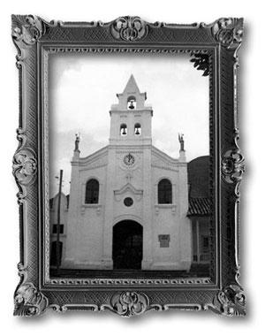 reloj de la iglesia divino salvador de sopo